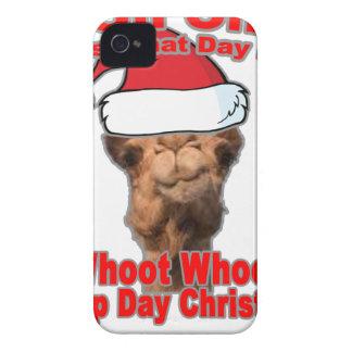 Conjeture qué navidad del día está en esta camiset Case-Mate iPhone 4 fundas