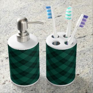 Conjunto De Baño Día de fiesta elegante de la tela escocesa el  