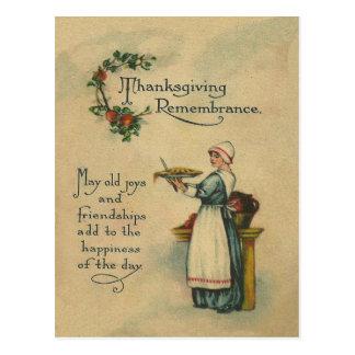 Conmemoración de la acción de gracias postal