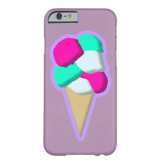 Cono de helado funda de iPhone 6 barely there
