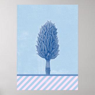 Cono de la magnolia - invierno en Opatija #2 Póster