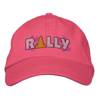 Cono de la reunión gorras de béisbol bordadas