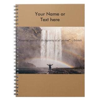 Conociéndose cita - cuaderno de Sprial