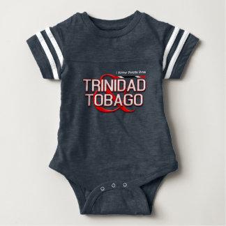 Conozco a gente de Trinidad and Tobago Body Para Bebé