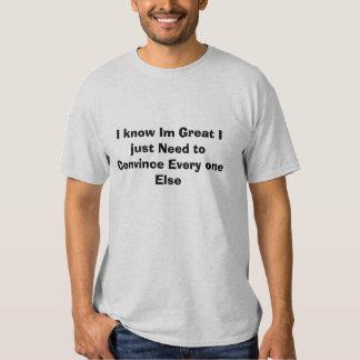 Conozco Im grande Camiseta
