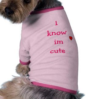 conozco im lindo camiseta de perrito