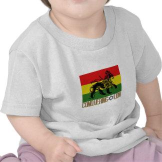 Conquista del león camisetas