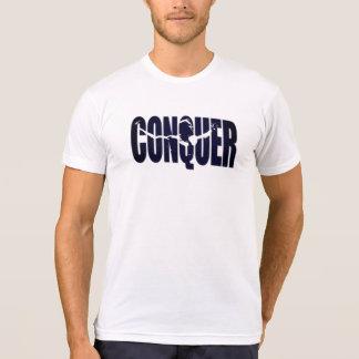 Conquiste la camiseta de los hombres