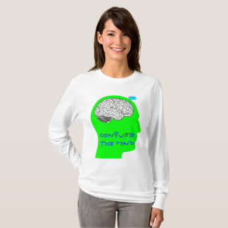 Conquiste la mente - camisa con mangas larga