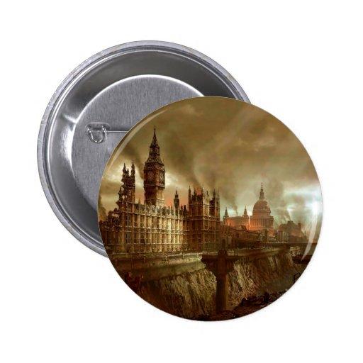 Consecuencias abstractas de Londres de la fantasía Pins