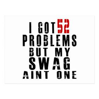 Conseguí 52 problemas pero mi aint uno del swag postal