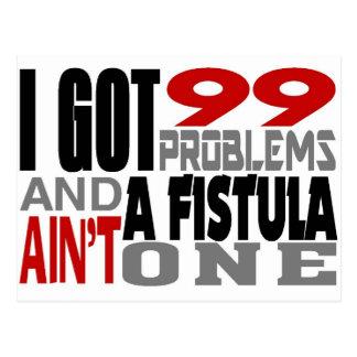 Conseguí 99 problemas y una fístula no es una postal