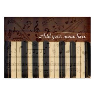 Conseguí música en me_ tarjeta de visita