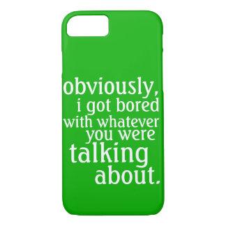 Conseguí obviamente aburrido funda iPhone 7
