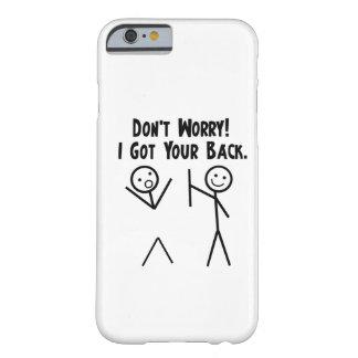 Conseguí su caso trasero del iPhone 6 Funda De iPhone 6 Slim