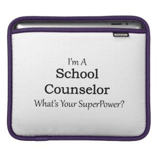 Consejero de la escuela funda para iPads