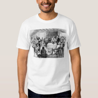 Consejo de Bull de sentada, 1877 Camiseta