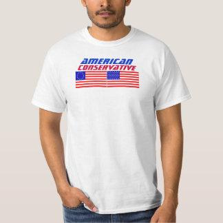 Conservador americano camisas