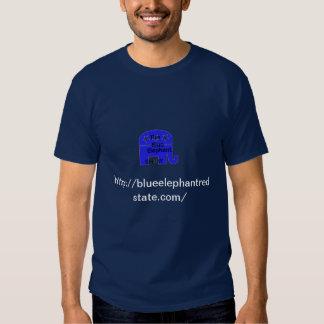 conservador libertario del elefante azul camisetas