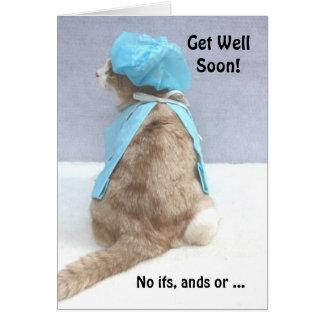 ¡Consiga bien pronto! Tarjeta De Felicitación