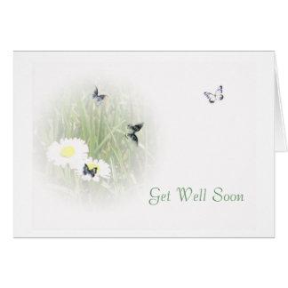 Consiga bien pronto tarjeta de felicitación
