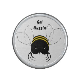 Consiga Buzzin, abeja loca linda Altavoz Bluetooth