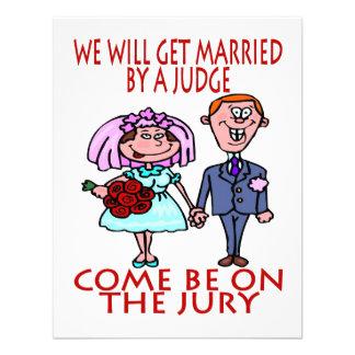 Consiga casado por el juez invitan invitacion personal