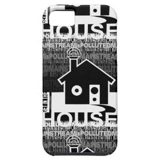 Consiga en la música de la casa funda para iPhone 5 tough
