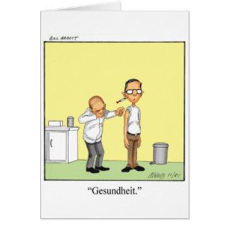 Consiga la tarjeta de felicitación bien del humor