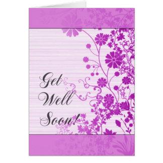 Consiga la tarjeta del pozo pronto (púrpura)