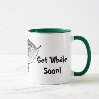Consiga la taza de la ballena pronto
