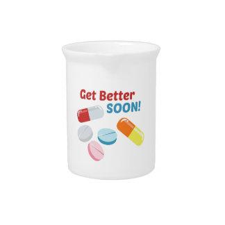 Consiga mejor pronto jarra para bebida