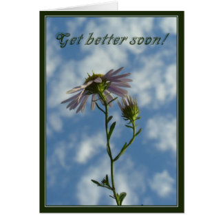 Consiga mejor pronto tarjeta de felicitación