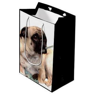 Consiga pronto el bolso bien del regalo del perro bolsa de regalo mediana