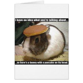Consiga pronto el conejito bien tarjeta de felicitación