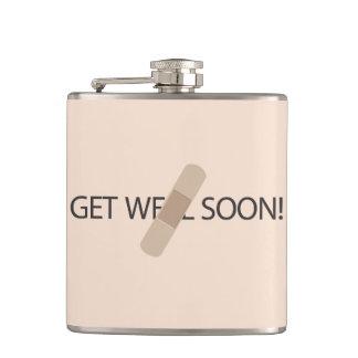 Consiga pronto el frasco bien petaca