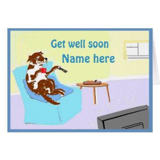 Consiga pronto el personalizar bien de la tarjeta