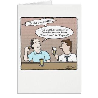 Consiga pronto la tarjeta bien: El fin de semana