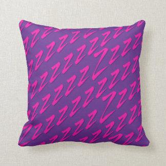 Consiga su sueño rosado púrpura de Zzz Cojin