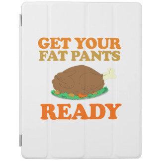 Consiga sus pantalones gordos listos - humor del cubierta de iPad
