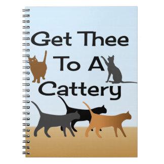 Consiga Thee a un cuaderno de la gatería