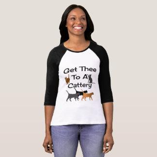 Consiga Thee a una camisa de la gatería