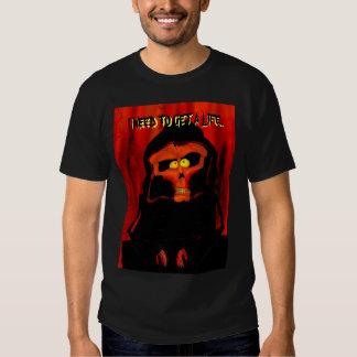 Consiga una vida, muerte camiseta