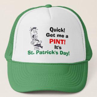 Consígame el gorra del día de un St Patrick de la