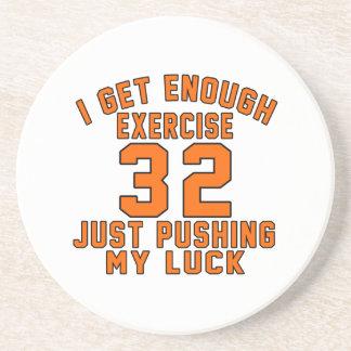 Consigo bastante ejercicio 32 apenas que empuja mi posavasos manualidades