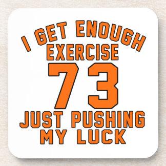 Consigo bastante ejercicio 73 apenas que empuja mi posavasos