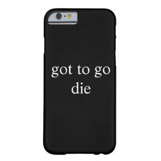 Consiguió ir funda para iPhone 6 barely there