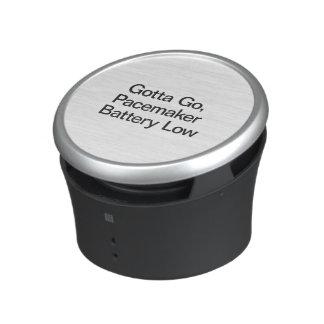 Consiguió ir, la batería Low.ai de los marcapasos Altavoz Bluetooth