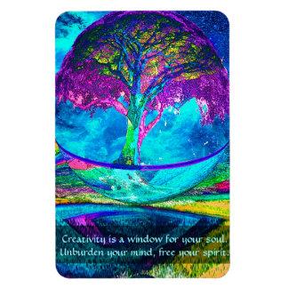 Consolide su creatividad imán