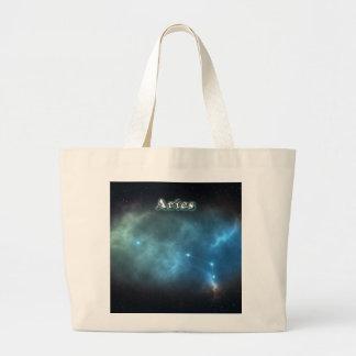 Constelación del aries bolso de tela gigante